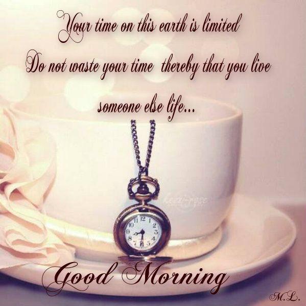 Tvůj čas na tomto světě je omezený Neplýtvej jím tím,že budeš žít život někoho jiného