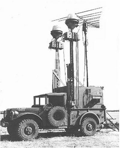 US Army AN/MLQ-24 SIGINT (Signals Intelligence) system on an M37 carrier. This system debuted in the late 1940s, and was in use into the late 1960s.