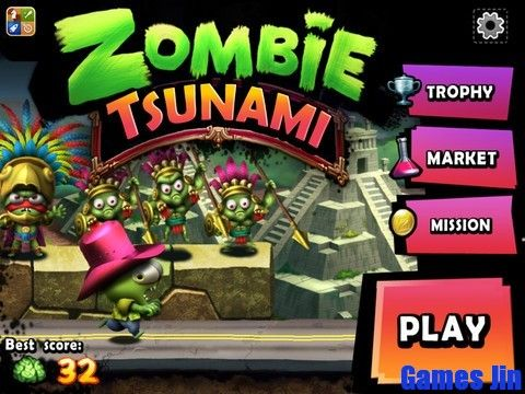 Tai game zombie tsunami cho may tinh win7
