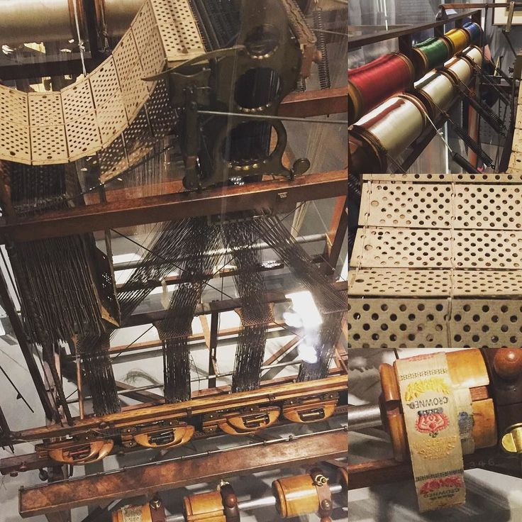 Jacquard loom -  early programmable manufacturing system
