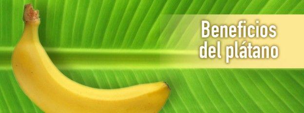 16 beneficios del plátano #salud y #bienestar