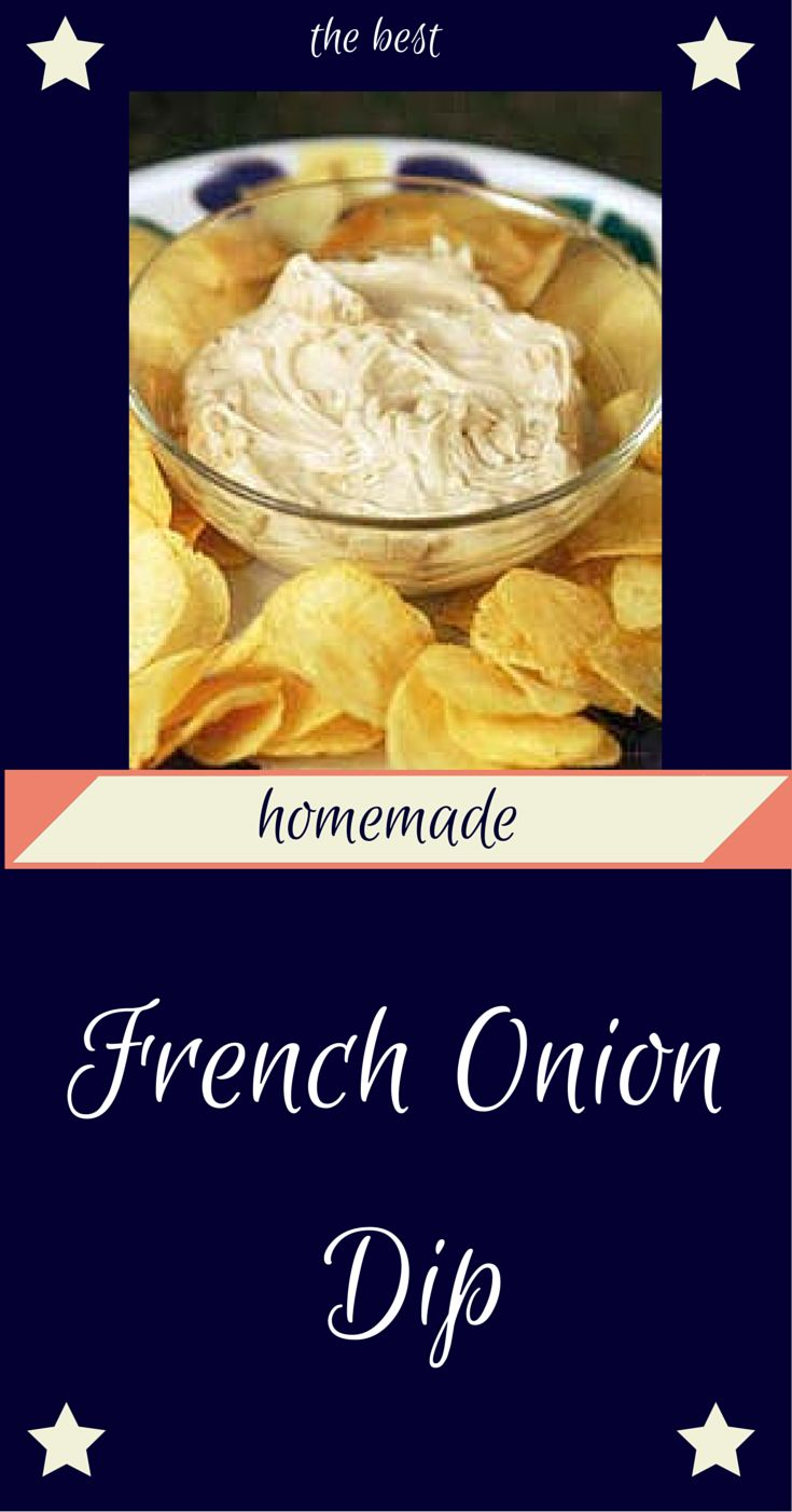 Simple easy delicious - I love this french onion dip recipe. I used to just make it for parties but it's so easy I have been making it for a snack too.