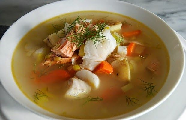 Ψαρόσουπα - Συνταγή