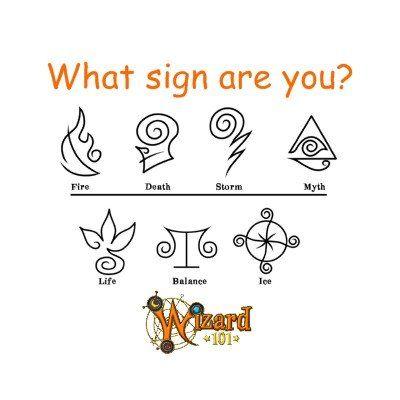 Wizard101 school signs