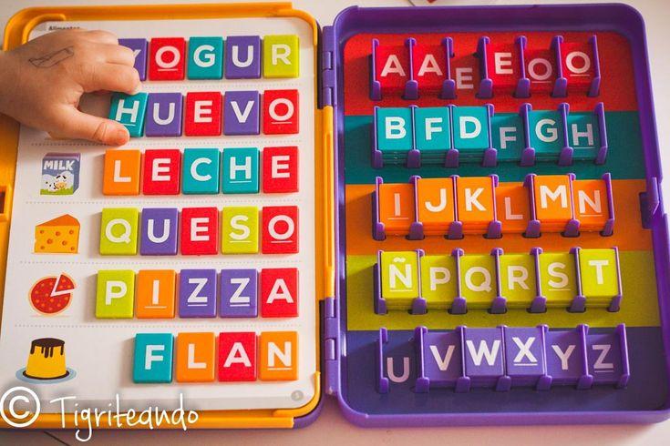 20 Alfabetos moviles: Jugar con las letras - Tigriteando
