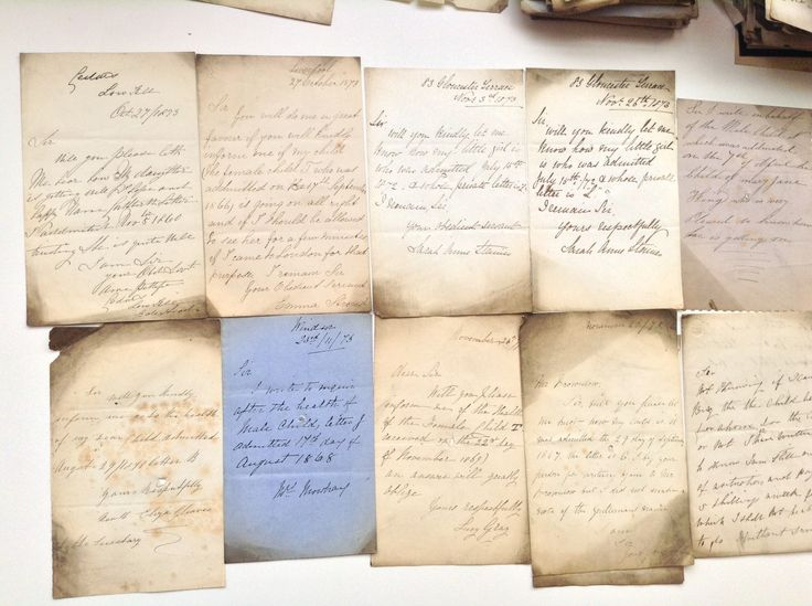 Best Mothers Letters To The Foundling Hospital S Images