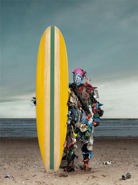 Plastic surfer