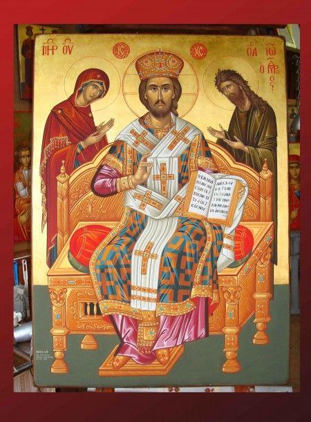 Byzantine Iconography - Wallpainting