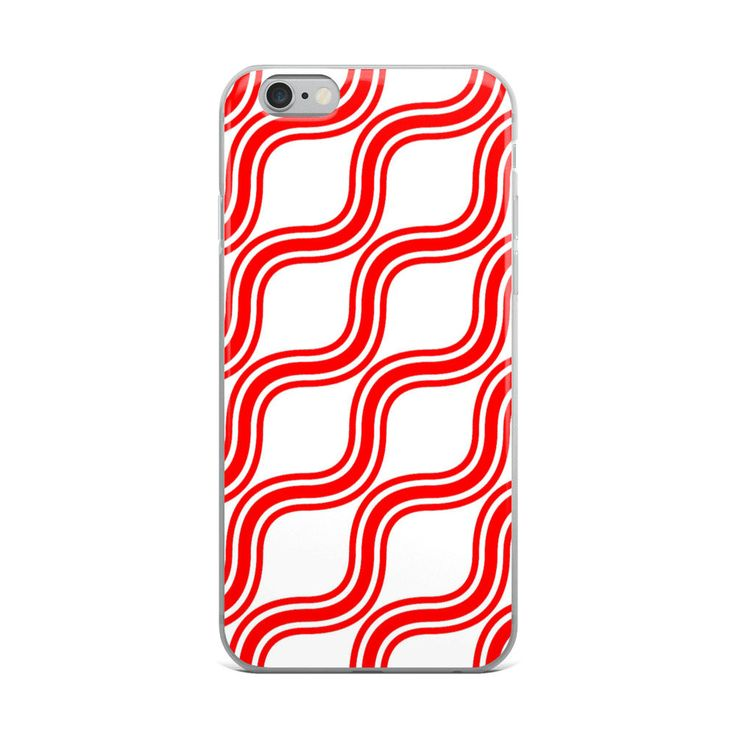 Excited to share the latest addition to my #etsy shop: Red & White Pattern iPhone X Case   Repetitive Pattern iPhone case   Colorful iPhone 6 case   Trendy iPhone 7 case   Geometry iPhone 8 case http://etsy.me/2EHoyei #accessories #case #cellphone #iphonexcase #repetit