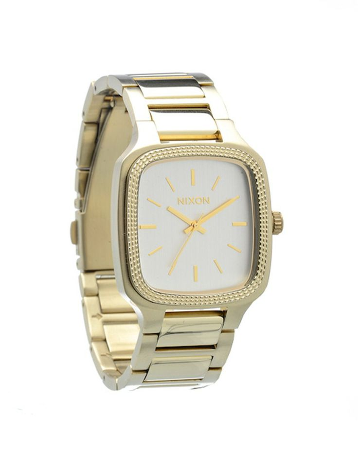 NIXON | Shelley Watch in Champagne Gold - Women - Style36  #style36 #xmasshopping #wishlist