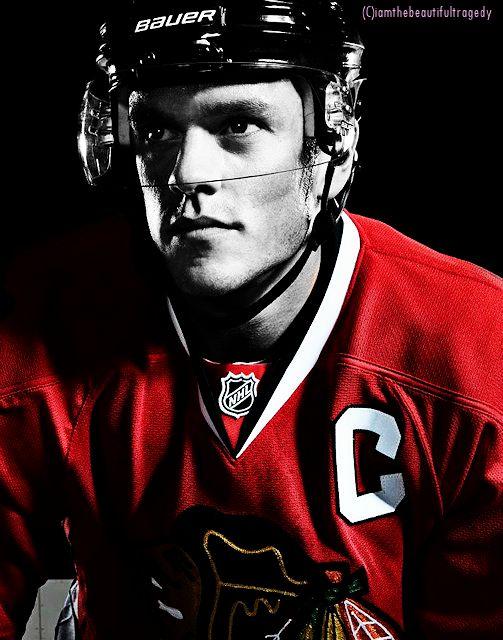 Jonathan Toews (Current Blackhawks Legend and Captain) 2014