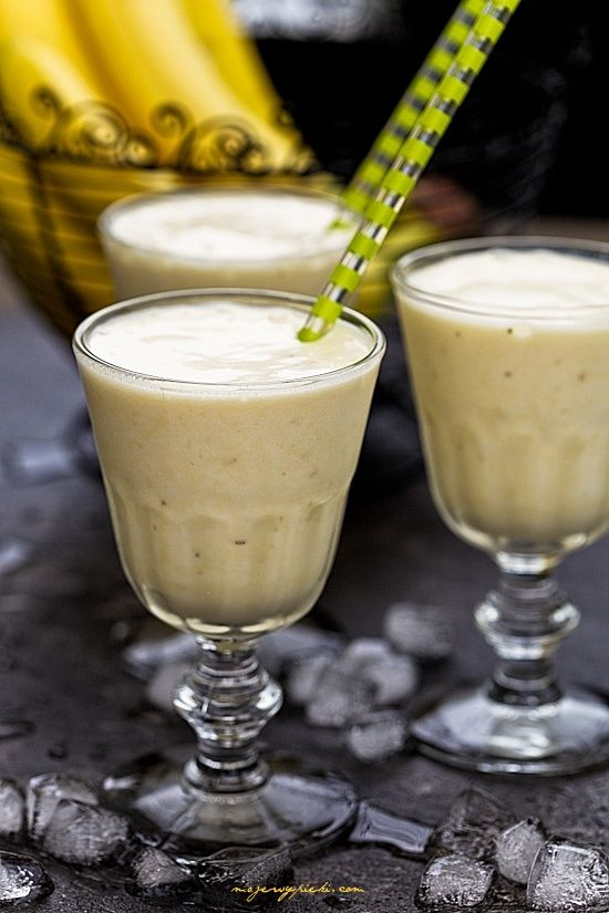 Bananowy milkshake
