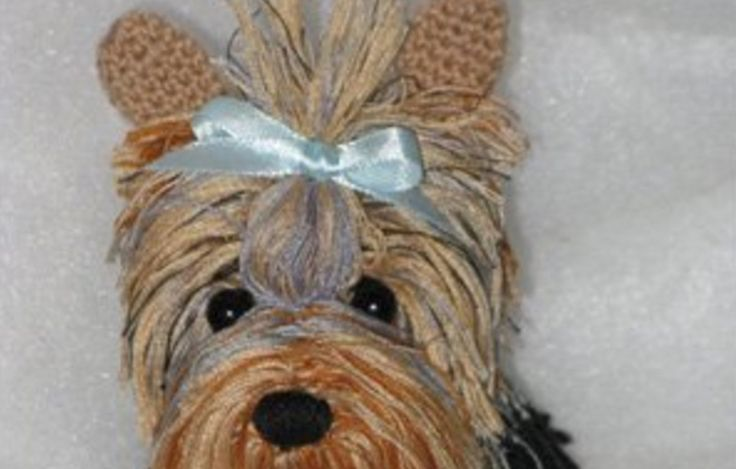 Free Crochet Yorkie Dog Pattern With Video Yorkshire ...