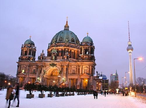 Winter in Berlin.