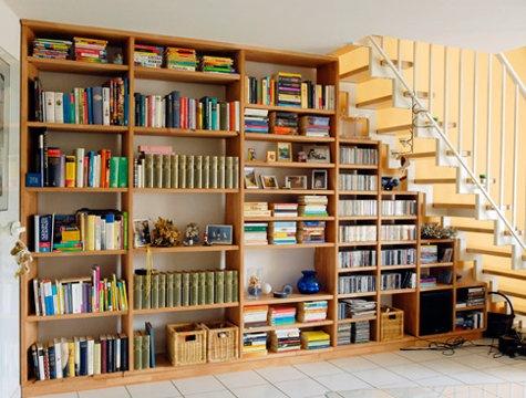 regalwand aus buche arbeitsplatten selber bauen holzarbeiten m bel ni na. Black Bedroom Furniture Sets. Home Design Ideas