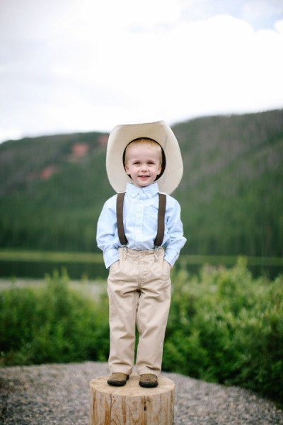 Cowboy Cuteness - Handsome Ring Bearer