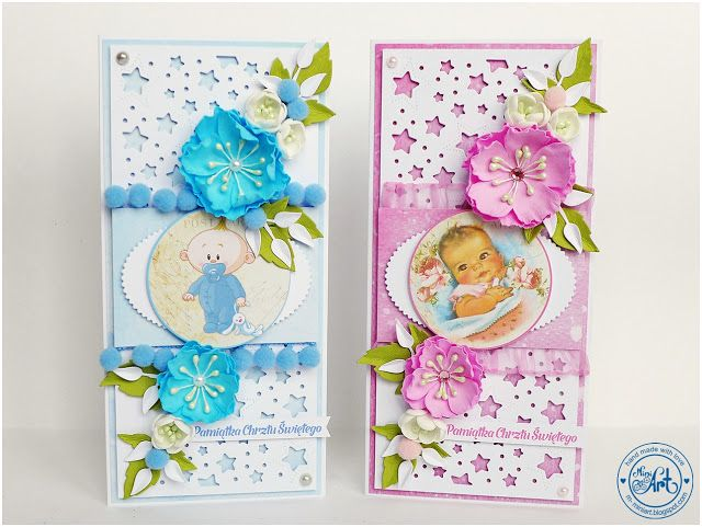 MiniArt - hand made with love: Chrzest z gwiazdkami / Christening with stars - DT Craft Passion