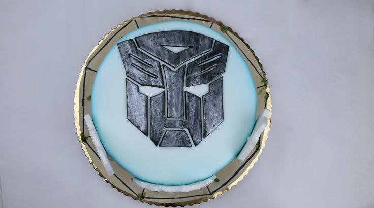🔩 TRANSFORMERS CAKE 🔩-  orchideli-transformers-tort urodzinowy dla chłopca z transformersami, wydruk na masie cukrowej