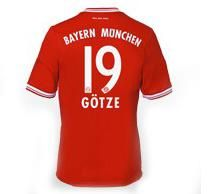 Maillot de Foot Bayern Munich (19 Gotze) Domicile Adidas Collection 2013 2014 rouge Pas Cher http://www.korsel.net/maillot-de-foot-bayern-munich-19-gotze-domicile-adidas-collection-2013-2014-rouge-pas-cher-p-2450.html