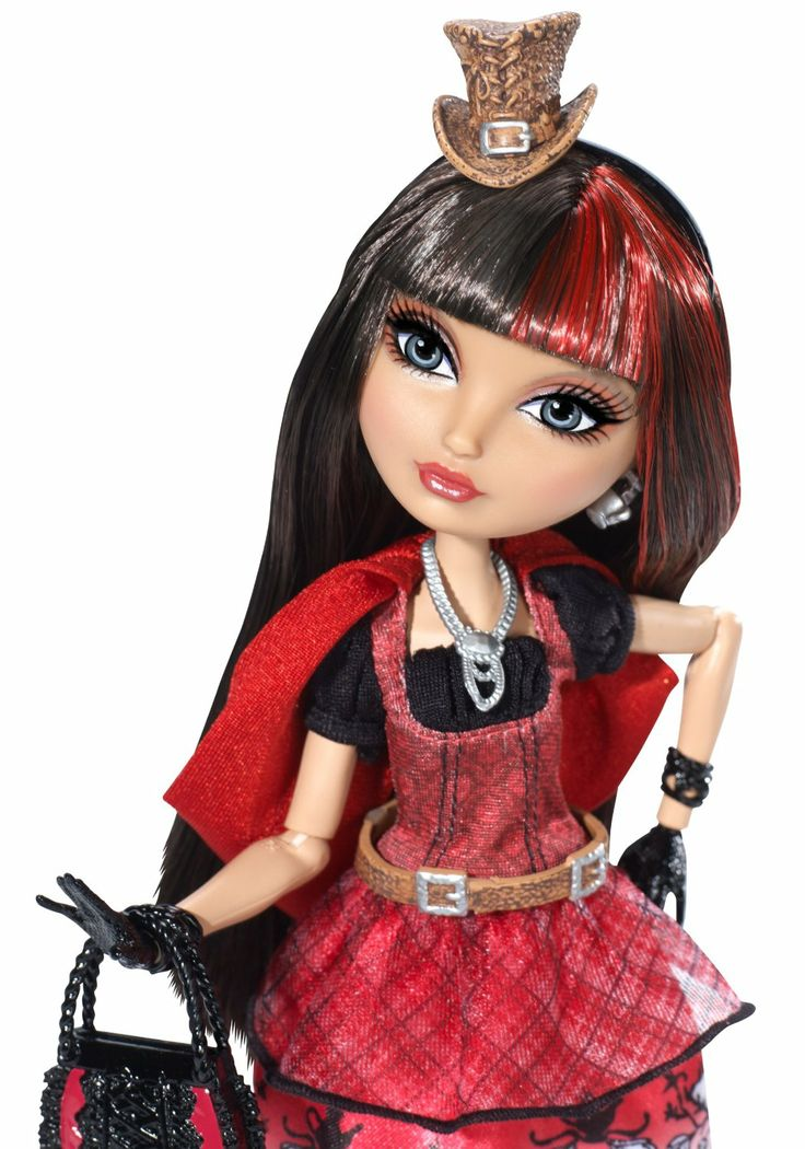 Ever After High Hat-Tastic Cerise Hood Doll | dools ...