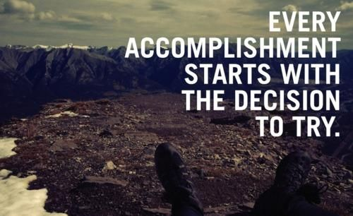 Decide. Then go for it. #goals: Accomplish Start, Sotrue, Motivation Quotes, Bathroom Mirror, Truths, So True, Living, Inspiration Quotes, Tri Again