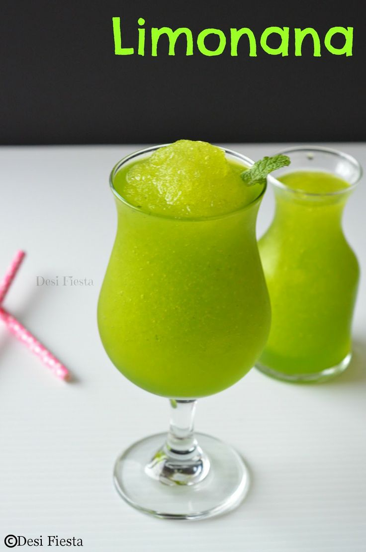 Limonana / Frozen mint lemonade | Food | Pinterest
