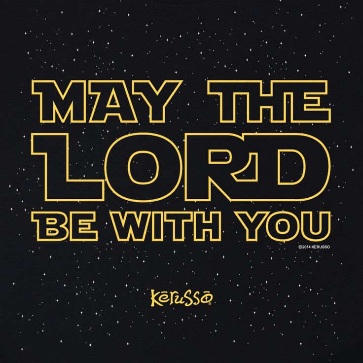 May the Lord Be With You | Kerusso Kids Christian T-Shirt | Youth Sizes | Free U.S. Shipping