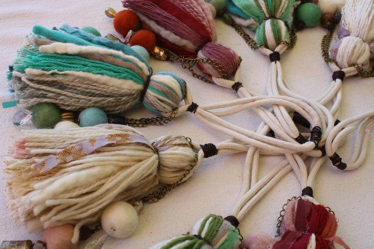 lanas para decorar