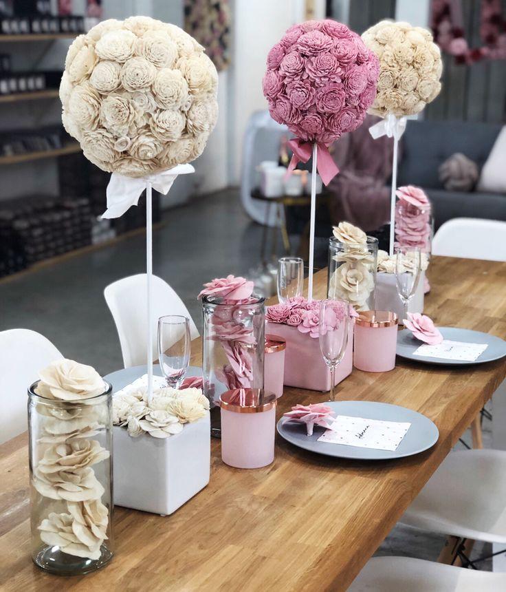 Table Centrepieces (Sydney) Angel Aromatics Table