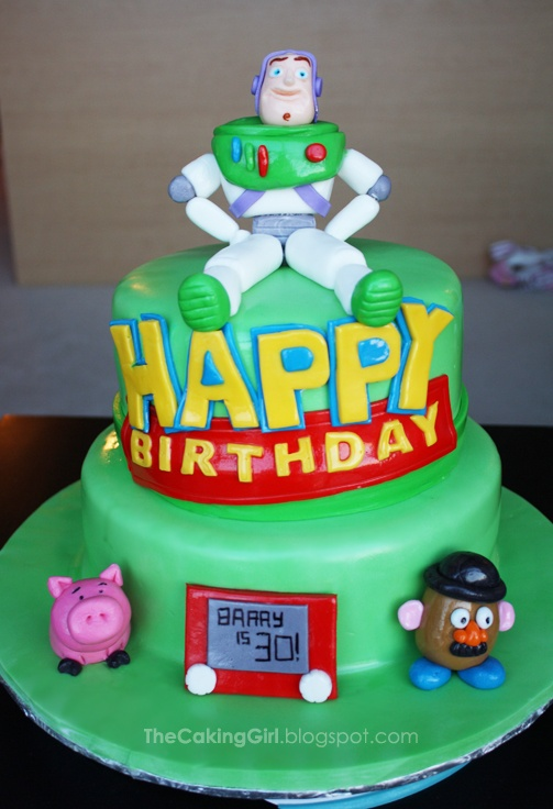 Toy Story Cake! :)