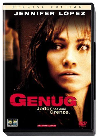 Directed by Michael Apted.  With Jennifer Lopez, Billy Campbell, Tessa Allen, Juliette Lewis. After running away fails, a terrified woman (Jennifer Lopez) empowers herself in order to battle her abusive husband (Billy Campbell).