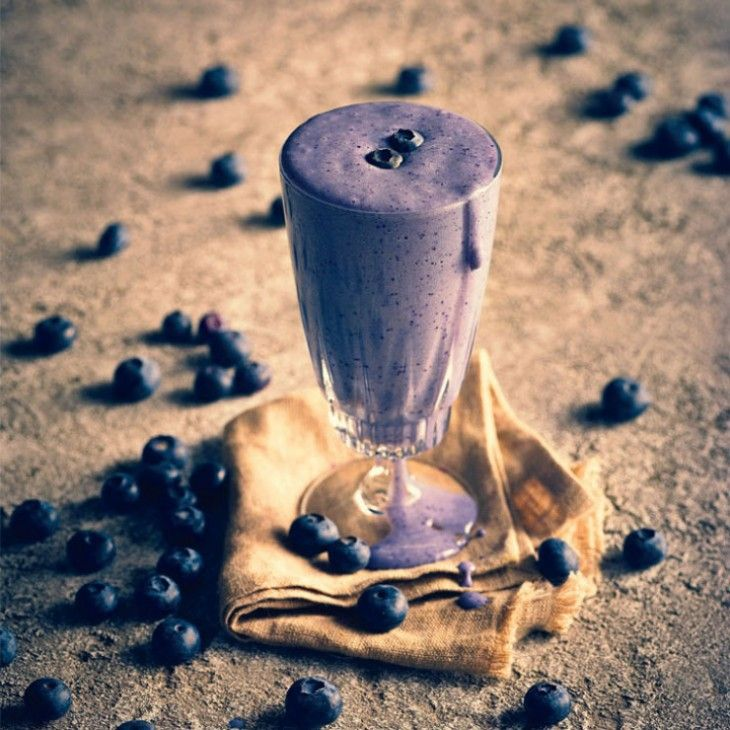 Slender Blueberry Smoothie