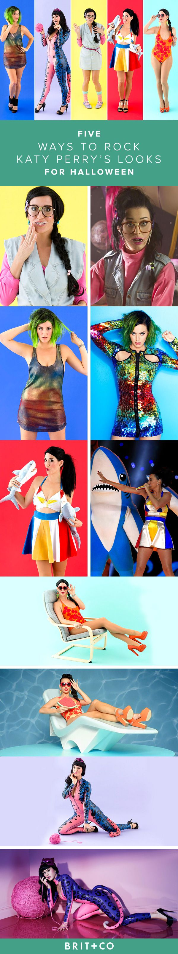 Live your teenage dream this Halloween in a Katy Perry costume.