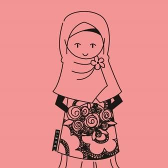 muslimah's character :) hopefully can inspire other muslimah to be syar'i hehe, because syar'i in anywhere and everywhere