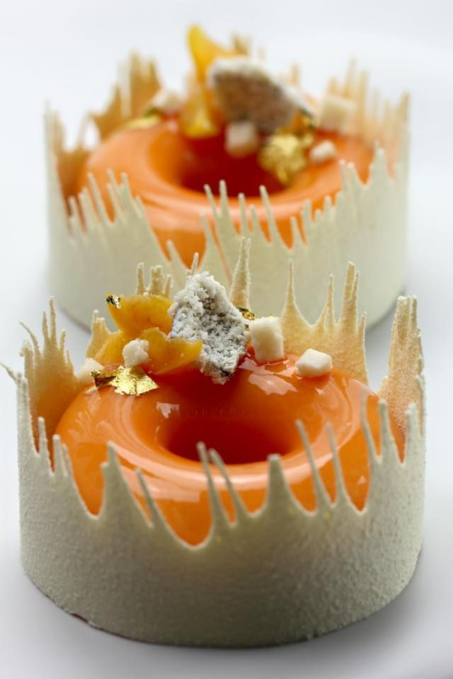 Marike van Beurden Created for So Good magazine The coconut & apricot Eskimo donut