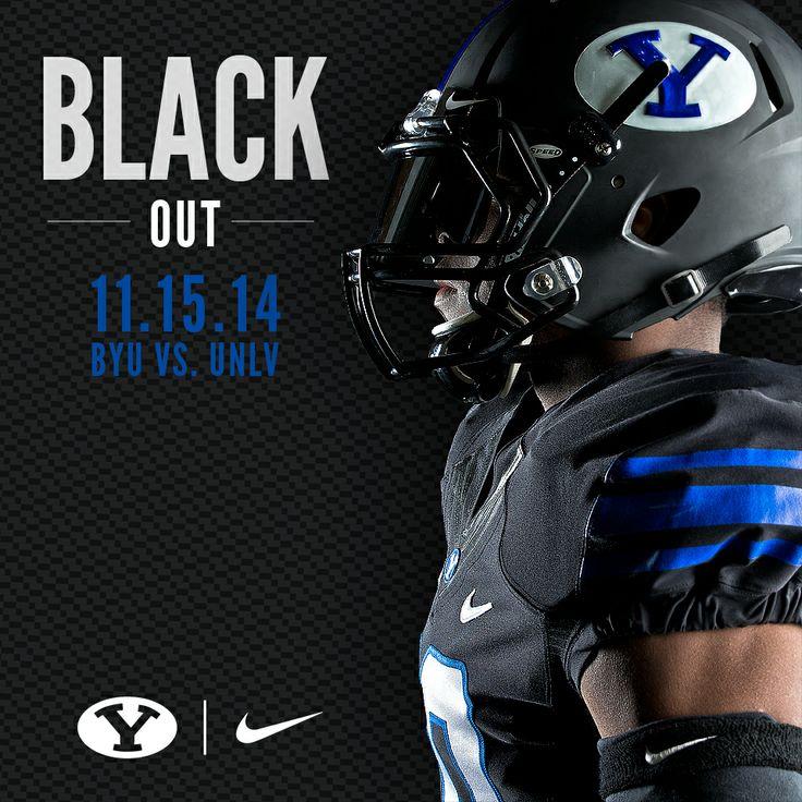 Black Uniforms - BYU Football 2014 by Dave Broberg