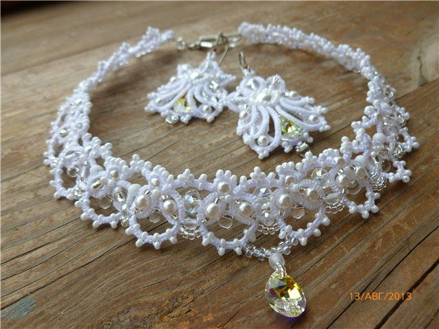 """""""Lucy"""" ... Wedding ...   Biser.info - all about beads and beaded work"""