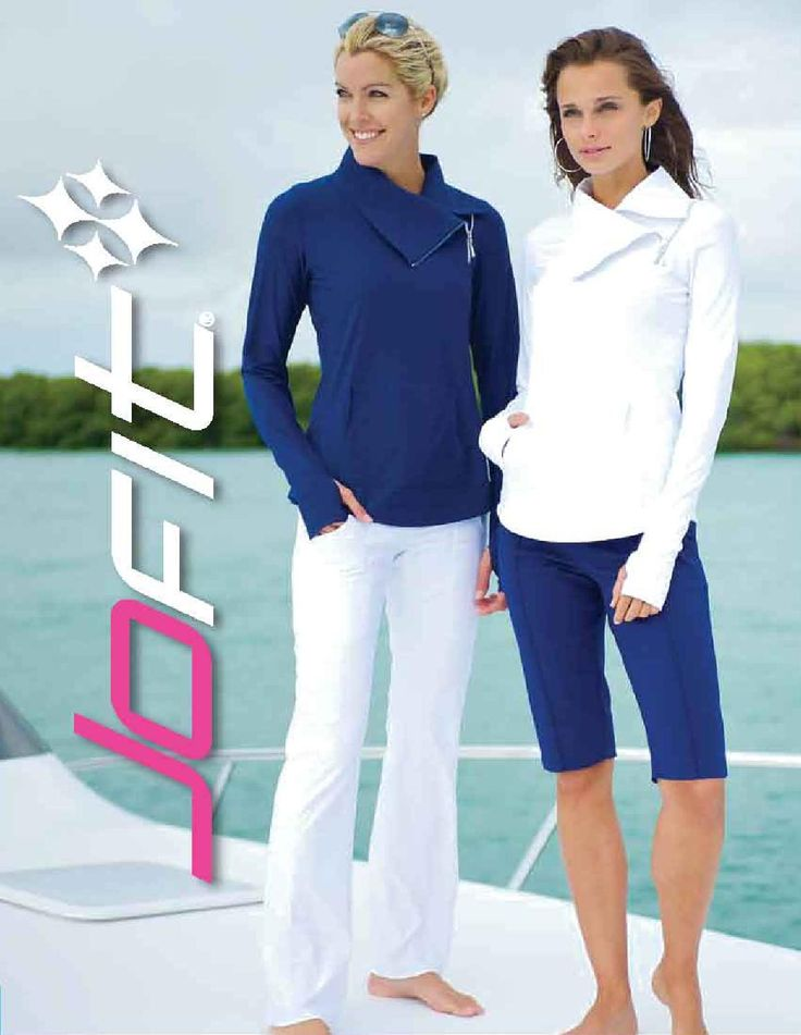 Head to the Pacific Islands wearing your new JoFit Ladies golf Apparel