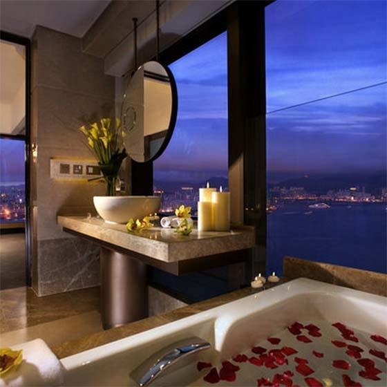 Pretty Amazing - Bathroom Harbour Grand Hong Kong Boutique Hotel
