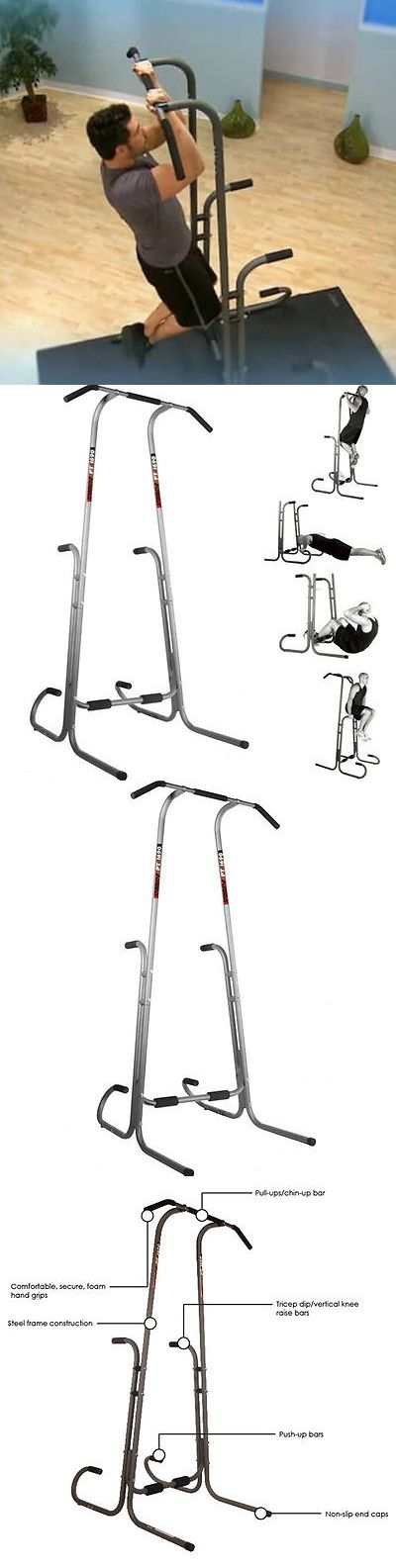 Pull Up Bars 179816: Free Standing Pull Up Bar Stand Portable Adjustable Strength Training Exercise -> BUY IT NOW ONLY: $162 on eBay!