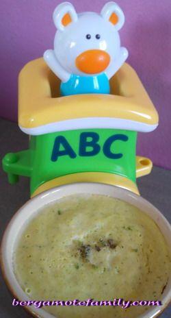 Flan de courgette au chèvre et petites pâtes (dès 12 mois)