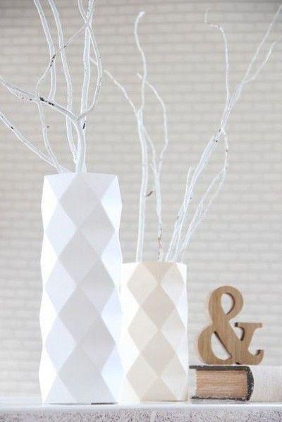 les 25 meilleures id es de la cat gorie vase origami sur pinterest facettes boite pastel et. Black Bedroom Furniture Sets. Home Design Ideas