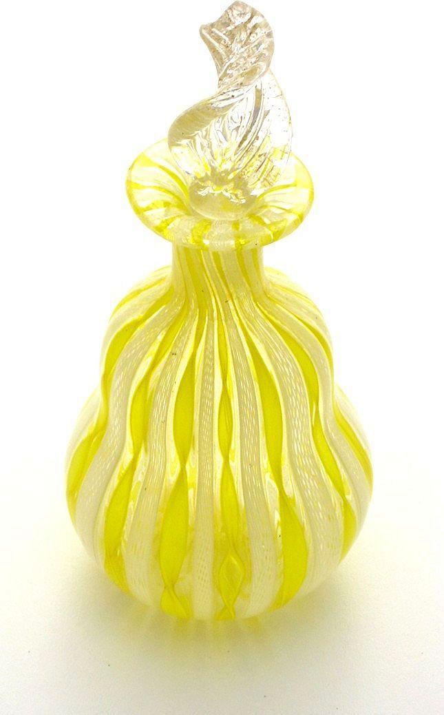 yellow  perfume bottle`