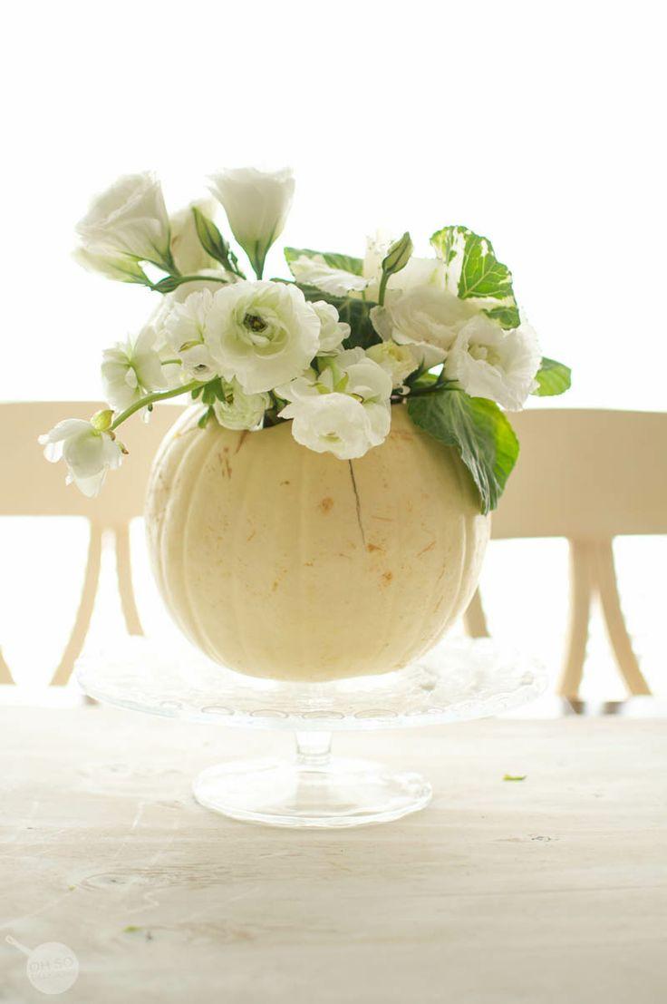 Flower Arranging 101; Thanksgiving Centerpiece