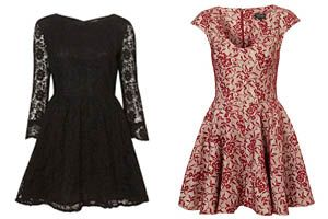 Topshop, dresses, holiday dresses, lace, lace dresses  http://beautyjunket.com/the-perfect-holiday-dress-topshop-edition/