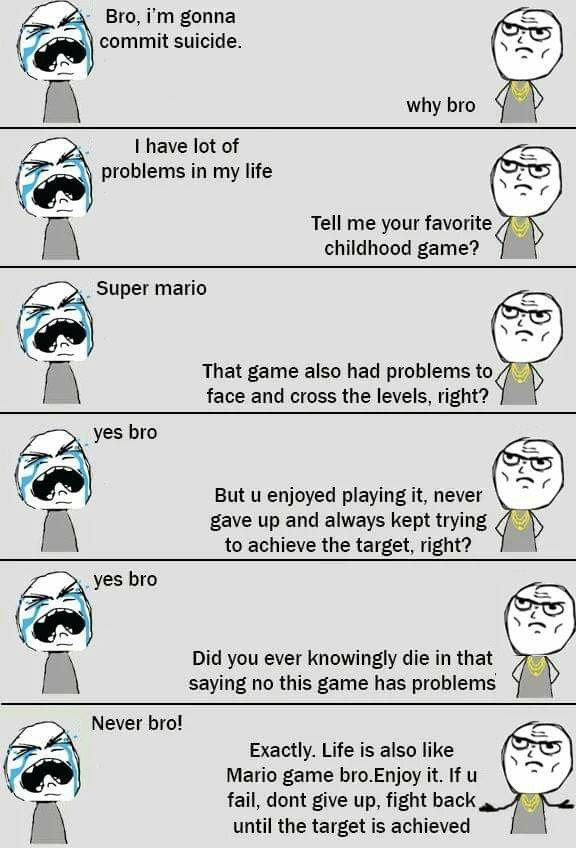 Pin By Aiman Al Hakim On Meme S And Quotes Never Give Up Game Face Childhood Games