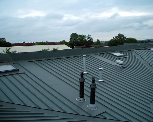 We offer a complete Industrial Roofing Service