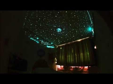 Fibra óptica para techo estrellado - DUKO - YouTube