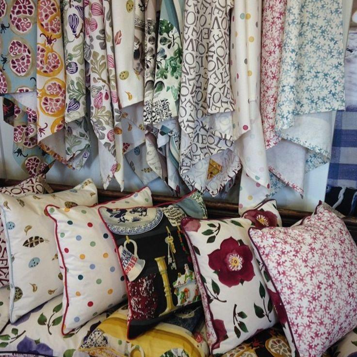 Emma Bridgewater Fabrics in collaboration with Sandersons