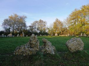 Cotswold Walks: Autumn in the Cotswolds at the Rollright Stones